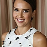 Jessica Alba With a Deep Side Part 2014