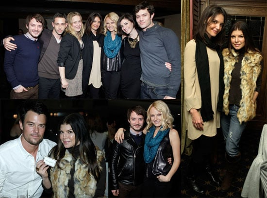Photos of Katie Holmes Promoting The Romantics at the 2010 Sundance Film Festival
