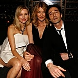 Naomi Watts, Laura Dern, and Adrien Brody made a fun trio at Bulgari and Save the Children's STOP. THINK. GIVE. event.