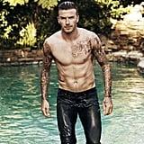 David got shirtless for Elle UK's July 2012 issue. Source: ELLE UK / Doug Inglish