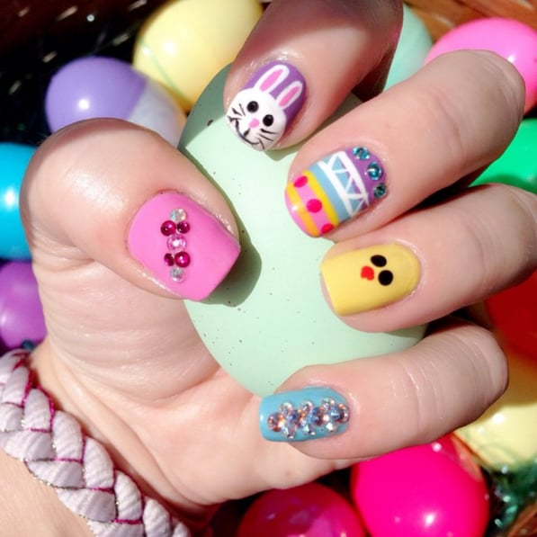 Easter Egg Nail Art Ideas Popsugar Beauty