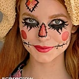 Scarecrow Temporary Face Tattoo Set