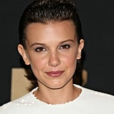 Millie Bobby Brown's Slicked Back Hair, 2017
