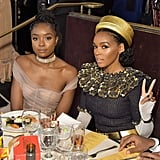 Pictured: KiKi Layne and Janelle Mona