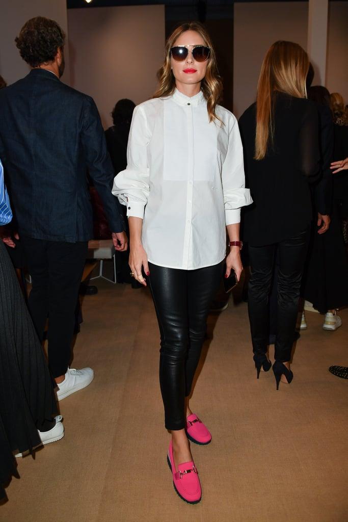 Olivia Palermo at the Tod's Milan Fashion Week Show