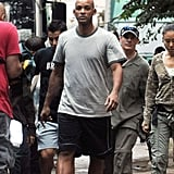 Photos of Will Smith on Set in China
