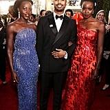 Pictured: Lupita Nyong'o, Michael B. Jordan, and Danai Gurira