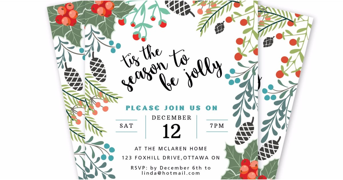 Get Ready to Party With Holiday Invitations You Can Download Right Now