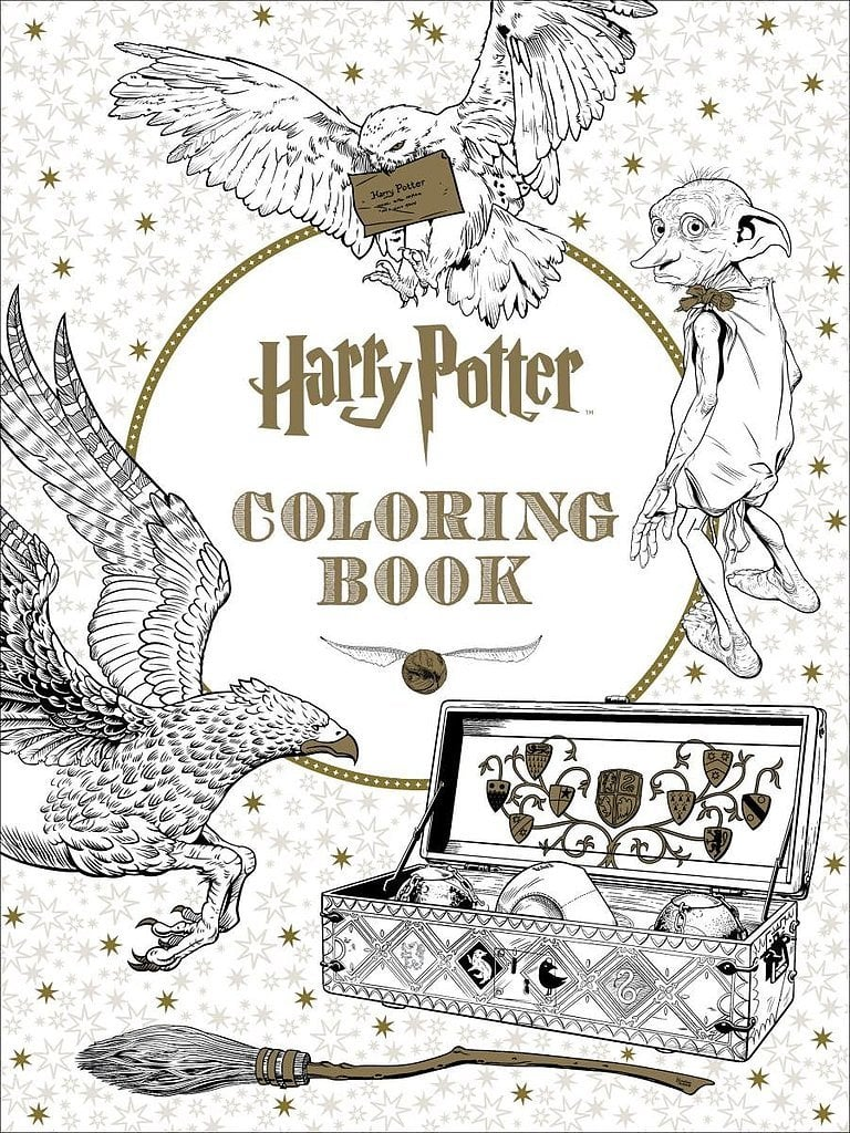 Harry Potter Coloring Book ($12)
