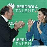 See More Pics of Queen Letizia in Her Zara Look