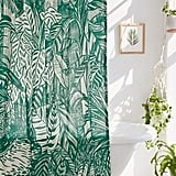 Saskia Pomeroy Plants Shower Curtain