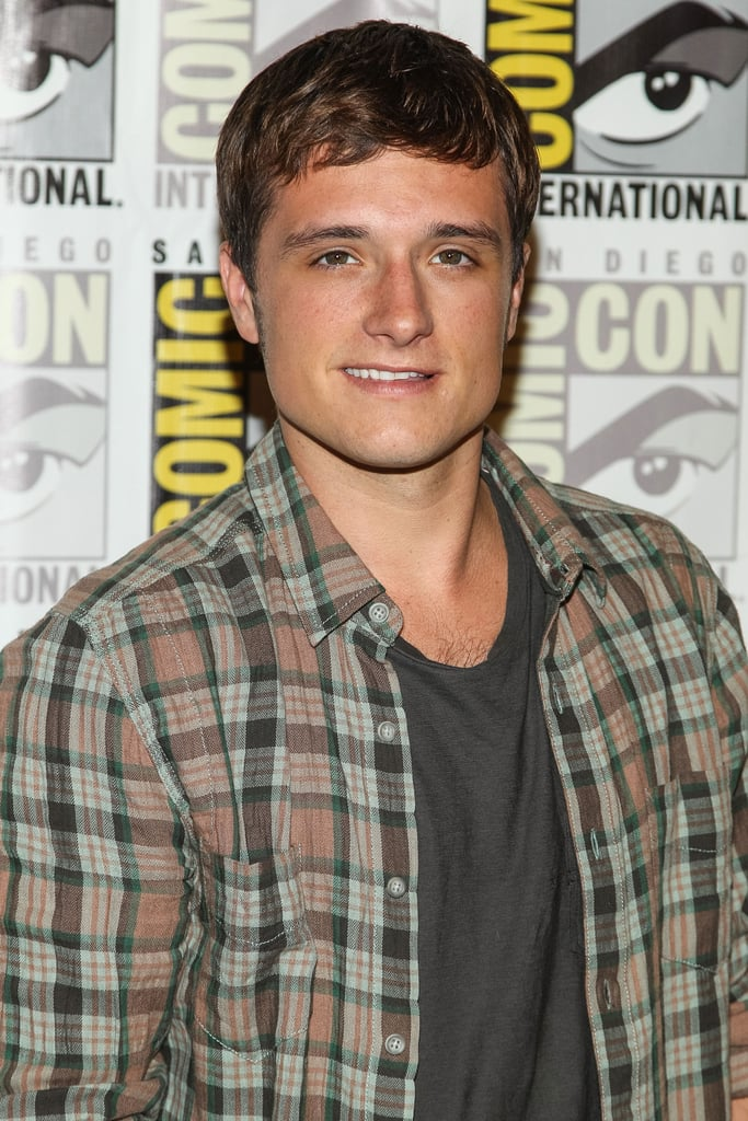 Josh Hutcherson attended the Catching Fire press line.
