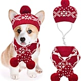 Mihachi Christmas Hat and Scarf Set