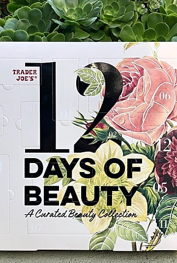 Trader Joe's Is Selling a Brand-New Beauty Advent Calendar