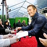 Chris Pratt at the MTV Movie Awards 2016