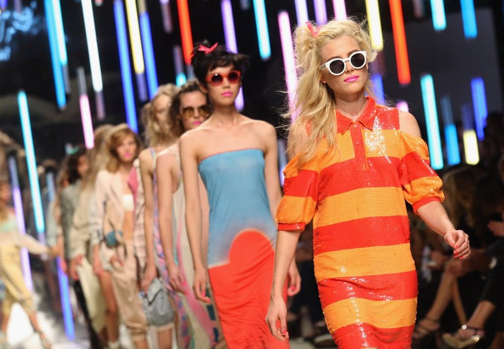 London Fashion Week, Spring 2010: Topshop Unique