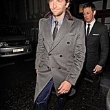 Bradley Cooper left the Elle Style Awards in London.