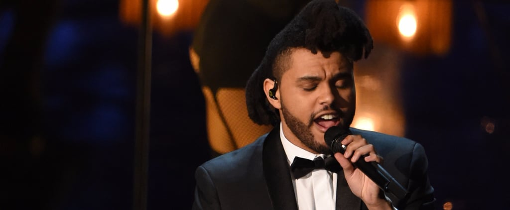 The Weeknd Oscars Performance 2016