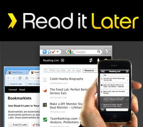 Use Read It Later to Save Content, Read Offline