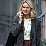 Naomi Watts on the Set of Gypsy After Breakup News 2016