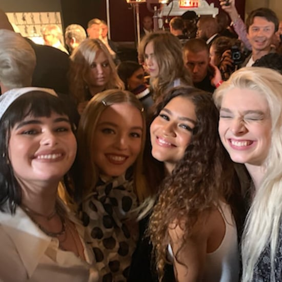 Hunter Schafer, Barbie Ferreira, and Sydney Sweeney at NYFW