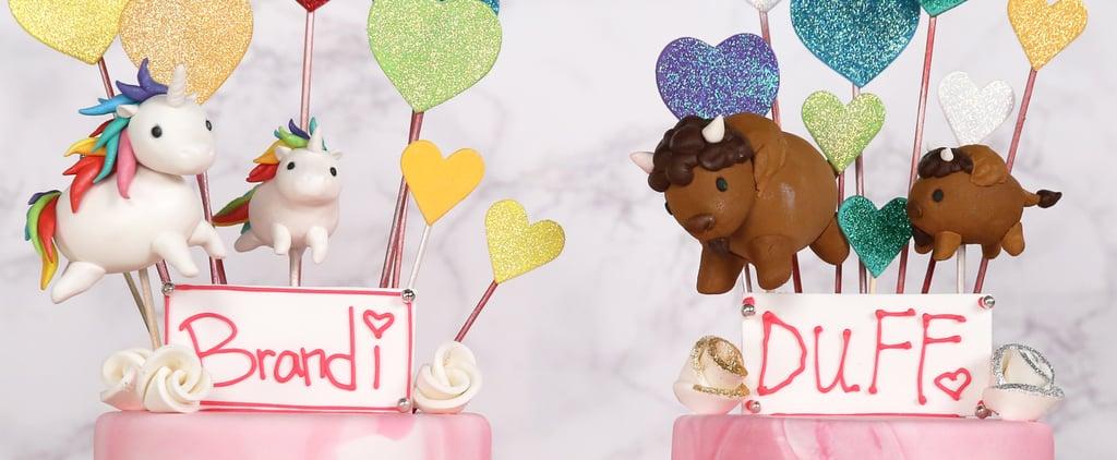 Funfetti Glitter Cake