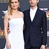 Pictured: Brie Larson and Alex Greenwald