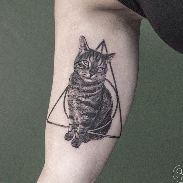 23b4ffe0e Cat Tattoos | POPSUGAR Pets