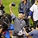 Bill Murray's Reaction to Cubs Winning World Series