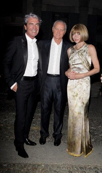 Cesare Paciotti, Santo Versace, Anna Wintour