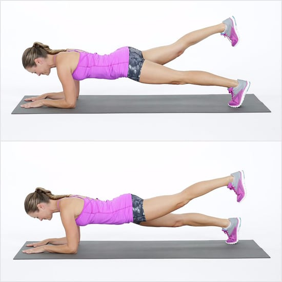 Elbow Plank With Lift
