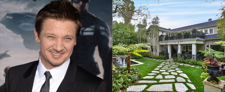 Jeremy Renner Hollywood Home Pictures