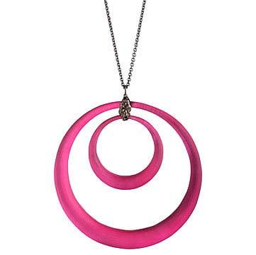 Double Circle Pendant Alexis Bittar
