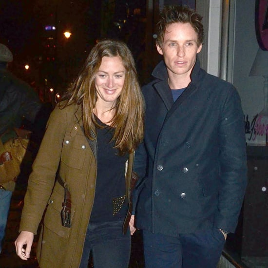 Eddie Redmayne and Girlfriend in London | Pictures