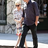 Jason Segel and Michelle Williams went on a lunch date.