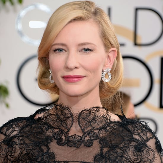 Cate Blanchett Dress on Golden Globes 2014 Red Carpet