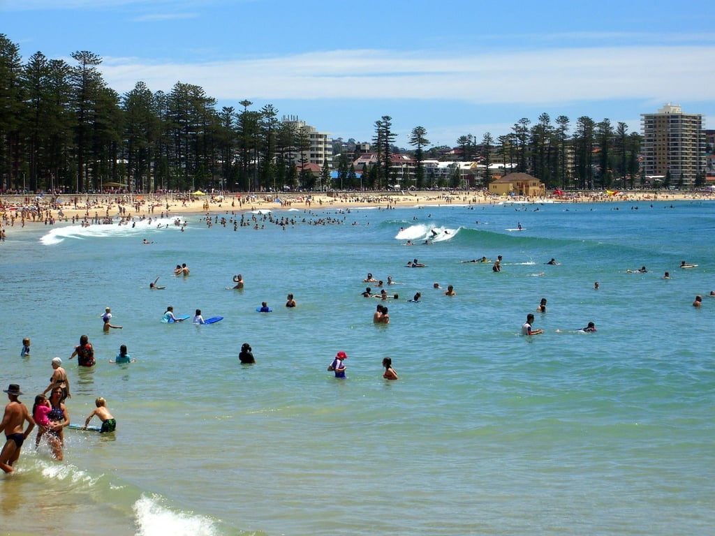 Manly Beach, Sydney, NSW