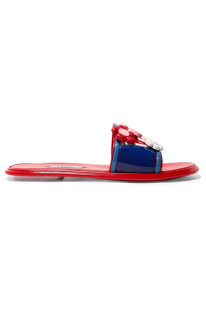 Slides were popular on the Spring '17 runway and this quirky pair from Prada ($655) is truly a must have. Wear with your favorite sundress for an easy daytime look.