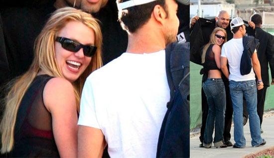 Britney Flirts in Vegas