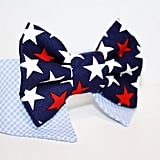 Patriotic Bow Tie Dog Collar