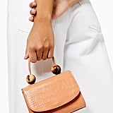 Topshop Mason Apricot Crocodile Mini Bag