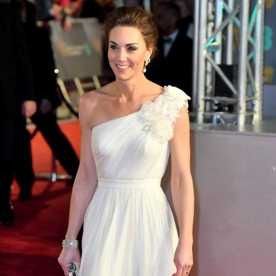 Kate Middleton's White Dress at the BAFTA Awards 2019