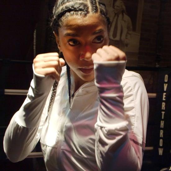 Hannah Bronfman Boxing Workout (Video)