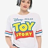 Disney Pixar Toy Story Logo Girls Athletic T-Shirt Plus Size