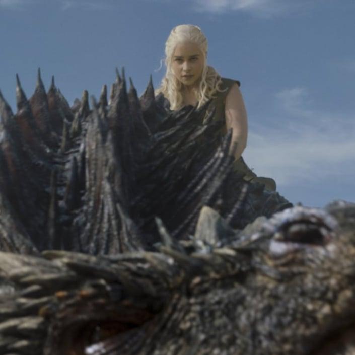 How Does Drogon the Dragon Know Daenerys Is Dead? | POPSUGAR