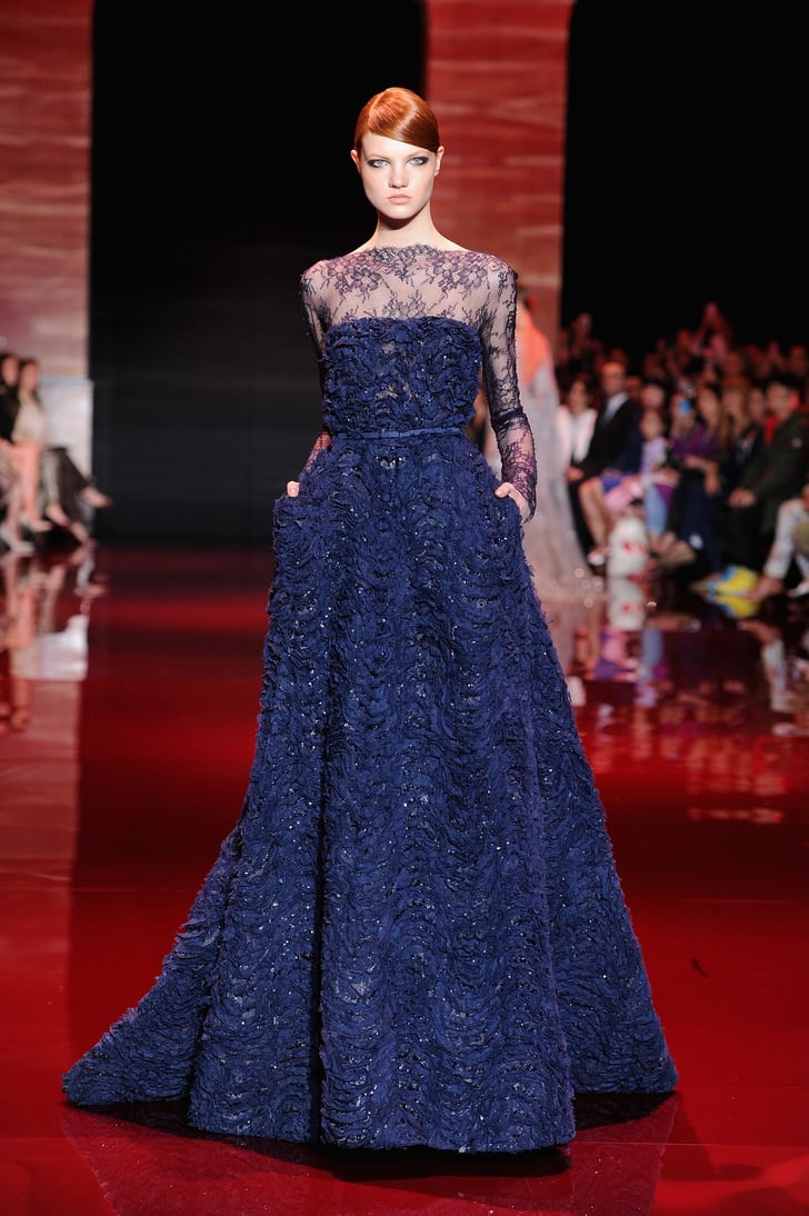 Elie saab haute couture fall 2013 elie saab at paris for Haute couture week