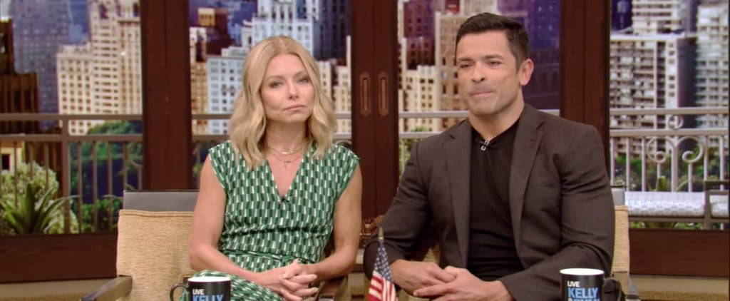 Kelly Ripa and Mark Consuelos on Daughter Walking in on Sex