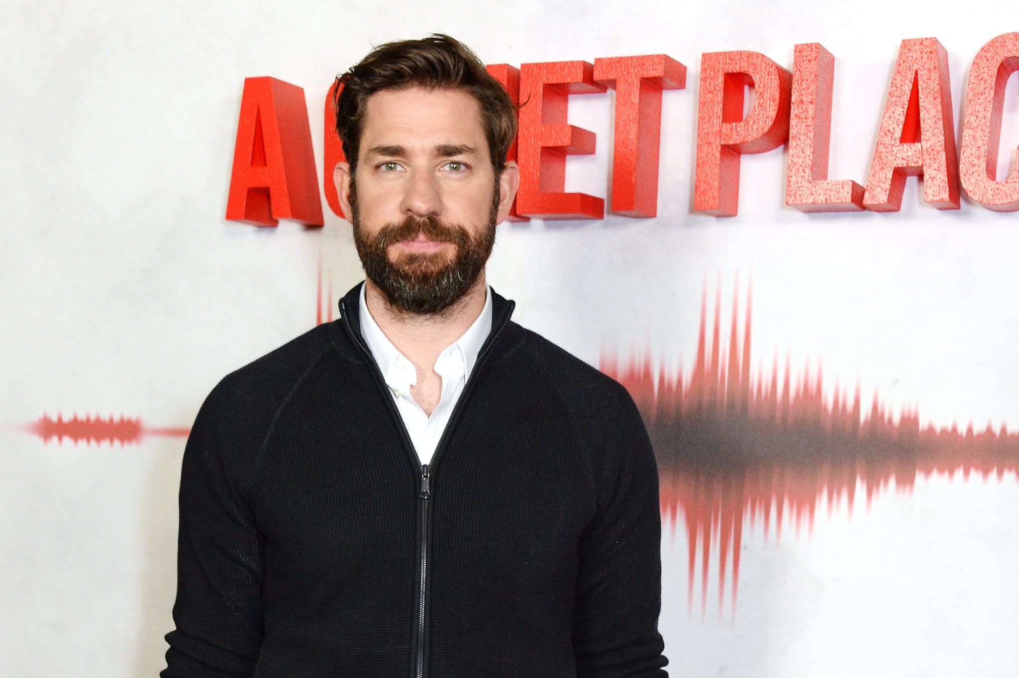 LONDON, ENGLAND - APRIL 05:  Actor/Director John Krasinski attends an immersive fan screening of
