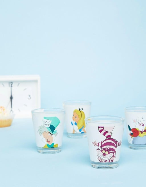 Alice in Wonderland Mini Glasses