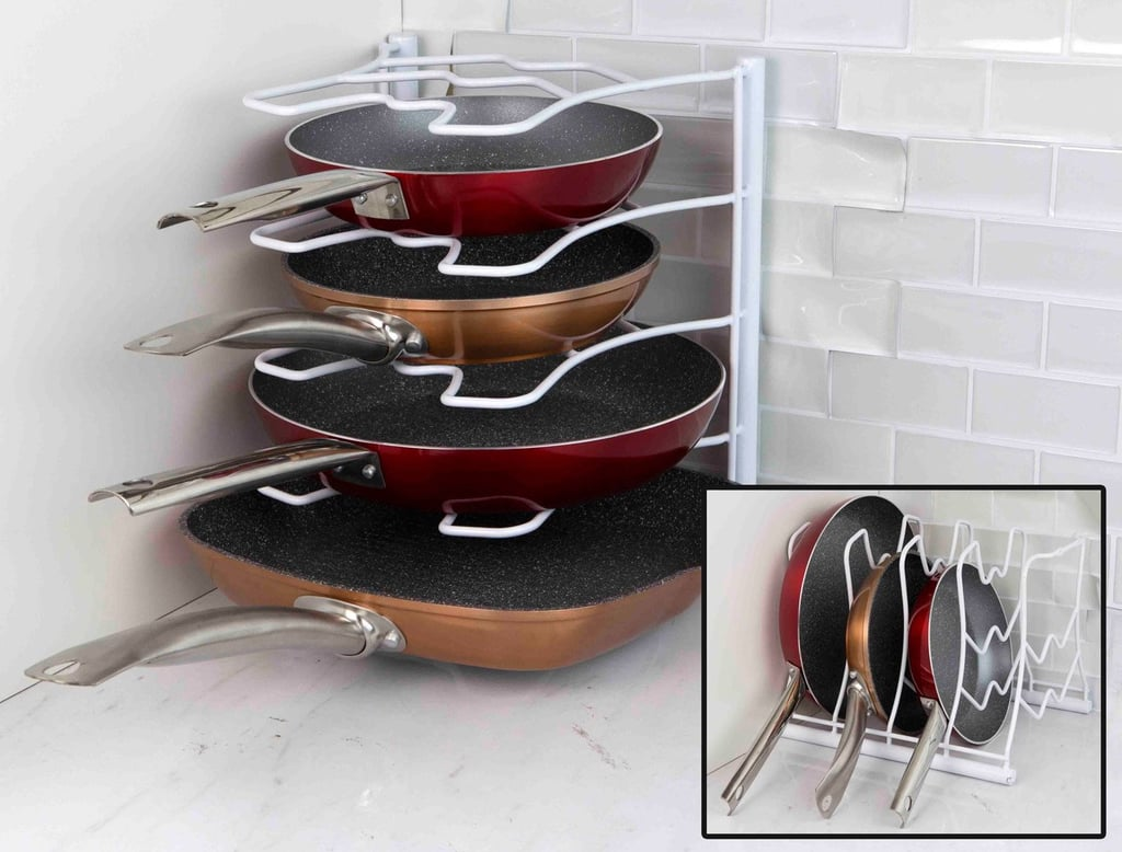 Home Basics Pan Organizer Rack
